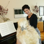 Working on Liszt with Florence in NYC