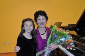 Chloe's first recital