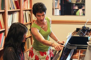 Juyoung studying Debussy's Pagodes
