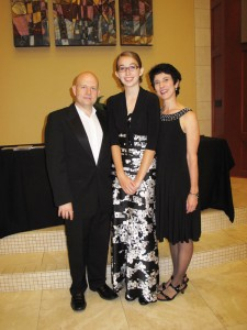 Post-concert celebration with Dr. Steven Spooner, University of Kansas